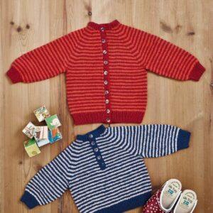 893456 Barnkofta-tröja i Esther